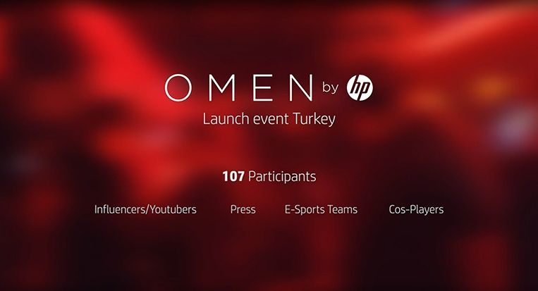 OMEN by HP Launch event Turkey