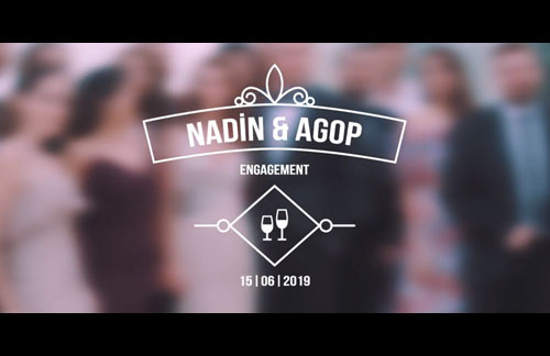 Nadin & Agop Engagement – Trailer